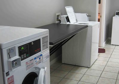 OrchardGate Apartment Community, Laundry Room for Residents, Folding Table
